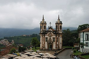 English: The church of São Francisco de Assis,...