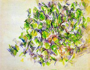Paul Cézanne - Foliage