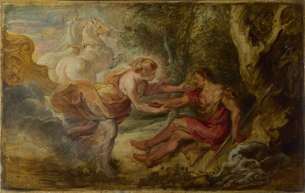 Peter Paul Rubens - Aurora abducting Cephalus - Google Art Project