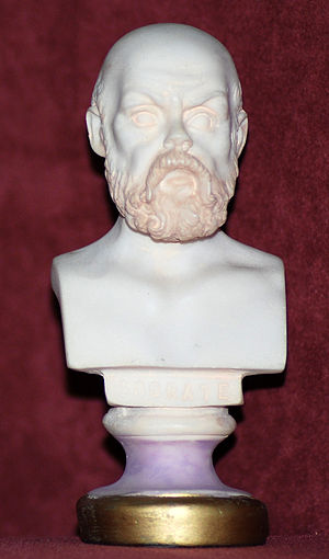 Miniatour bust of Socrates which I own (don't ...