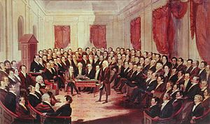 English: The Virginia Constitutional Convention