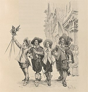 The Three Musketeers by Alexandre Dumas (illus...