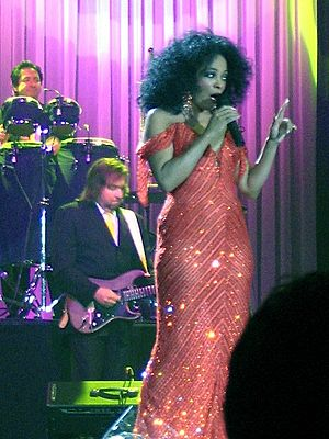 Diana Ross 2007 in Rotterdam