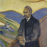 """Portrait of Friedrich Nietzsche"" by Edvard Munch"