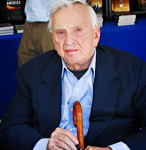 Gore Vidal at the Los Angeles Times Festival o...