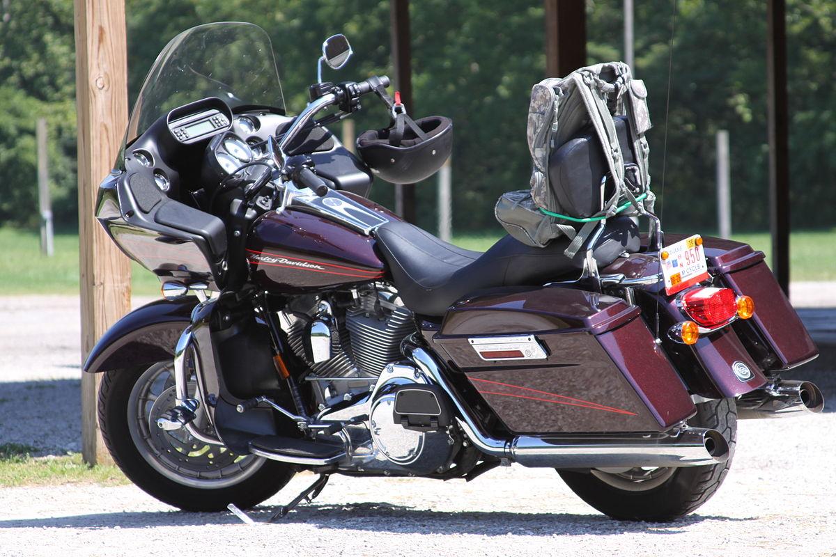 touring motorcycle wikipedia