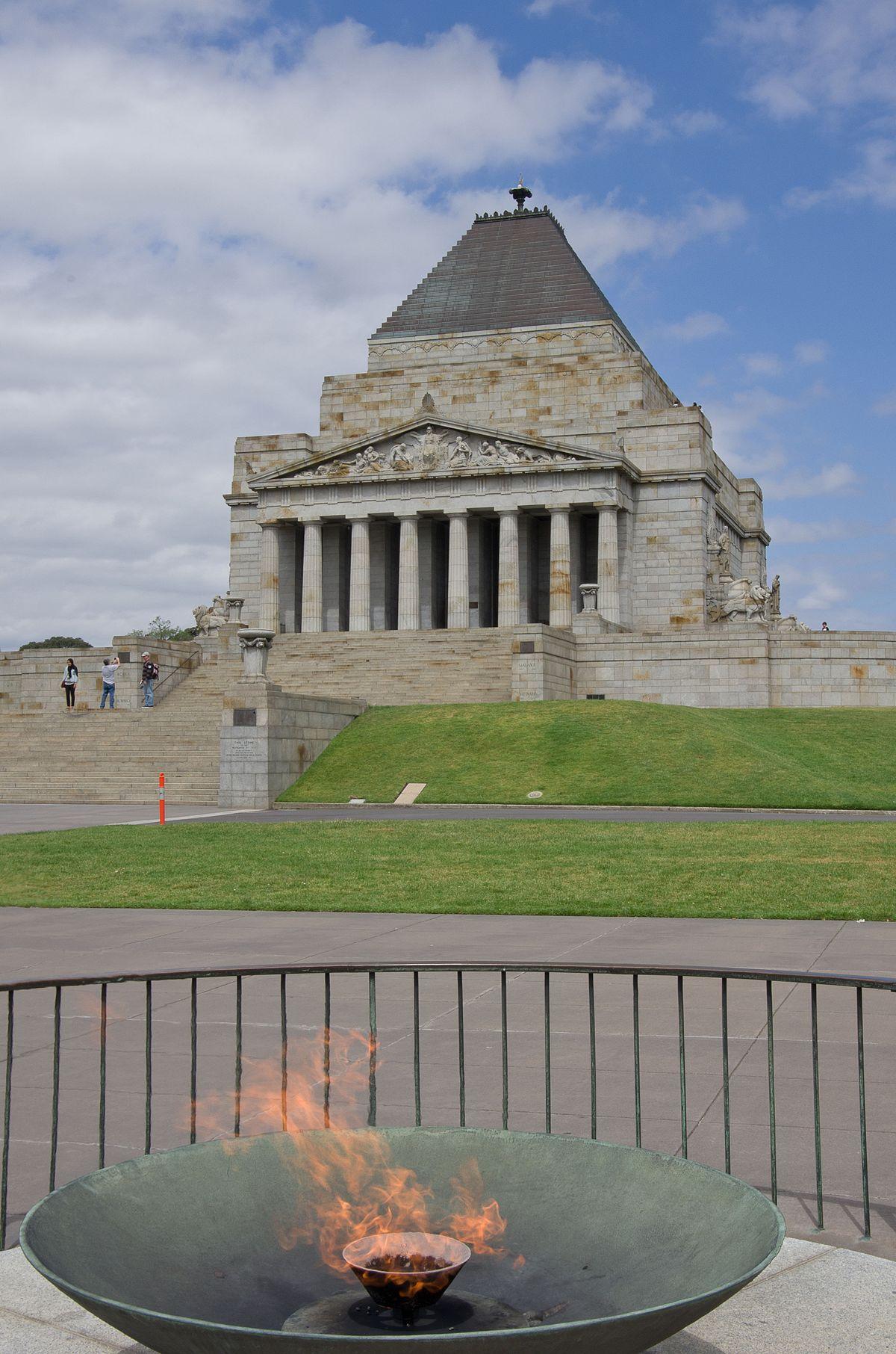 Shrine Of Remembrance Wikipedia