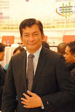 English: Governor Joey Salceda of Albay Provin...