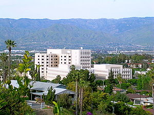 English: Photo taken of the Loma Linda Univers...