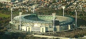 English: Melbourne Cricket Ground, August 2007...