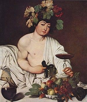 Caravaggio, Bacchus 1595