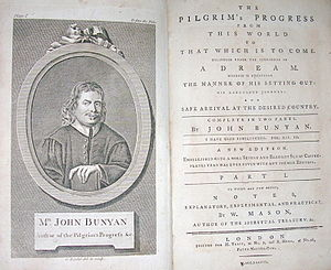 English: Engraving from The Pilgrim's Progress...