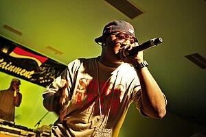 Recording artist Yung Joc performs for deploye...