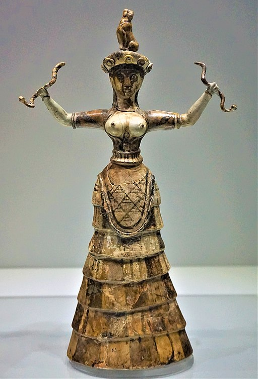 Snake Goddess - Heraklion Archaeological Museum by Joy of Museums
