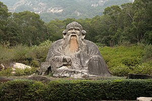 Statue of Lao Tzu (Laozi) in Quanzhou