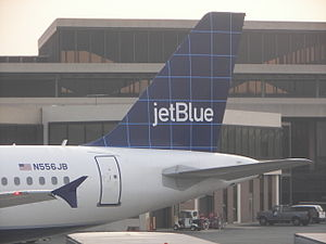 "JetBlue Tail (N556JB; ""Betty Blue"")"