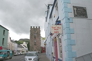 The Curfew Tower, Cushendall - geograph.org.uk...