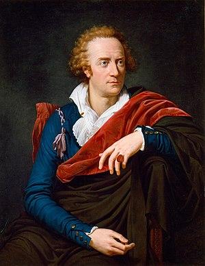 Vittorio Alfieri painted by David's pupil Fran...