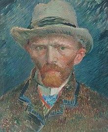 Van Gogh Self-Portrait with Grey Felt Hat 1886-87 Rijksmuseum.jpg