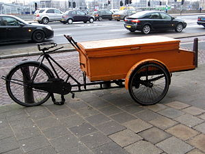 English: Work bike in Amsterdam