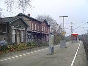 S-Bahnhof Eller mit ehemaligem Bahnhofsgebäude