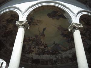 Chiosco della Musica, interno della cupola