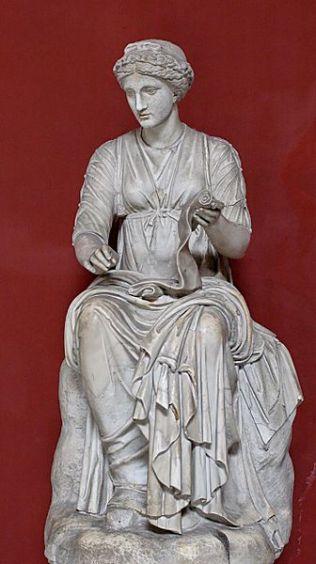 Klio, starożytna muza historii ( Źródło: Wikipedia )