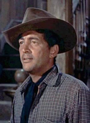 Cropped screenshot of Dean Martin from the tra...