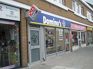 English: Domino's Pizza in Cosham High Street