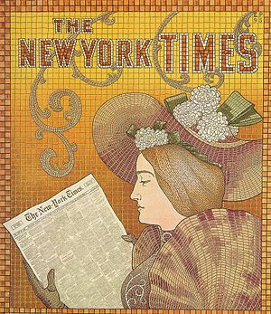 Detail of a New York Times Advertisement - 1895