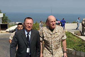 English: Beirut, Lebanon (July 19, 2006) – Com...