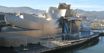 Guggenheim Museum in Bilbao is an example of a...