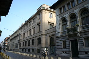 The building housing the most important Italia...