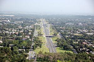 islamabad-rawalpindi freeway