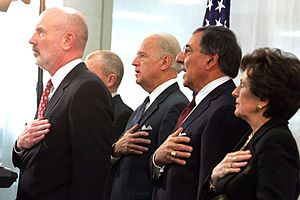 Vice President Joe Biden and CIA Director Leon...