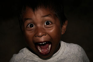 One of the funniest kids I've met while travel...