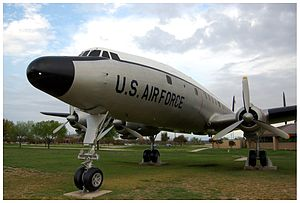 "Front view of a Lockheed C-121 ""Constella..."