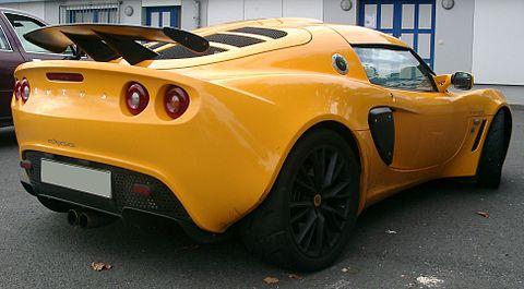 Lotus Exige rear 20070912