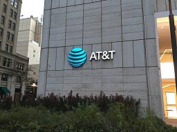 New AT&T Logo in Dallas, TX