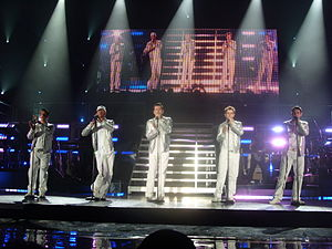 New Kids on the Block Concert January 2009