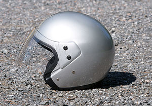 300px Open face helmet - NY and PA Motorcycle Lawyer: When it comes to helmets, what's your style?