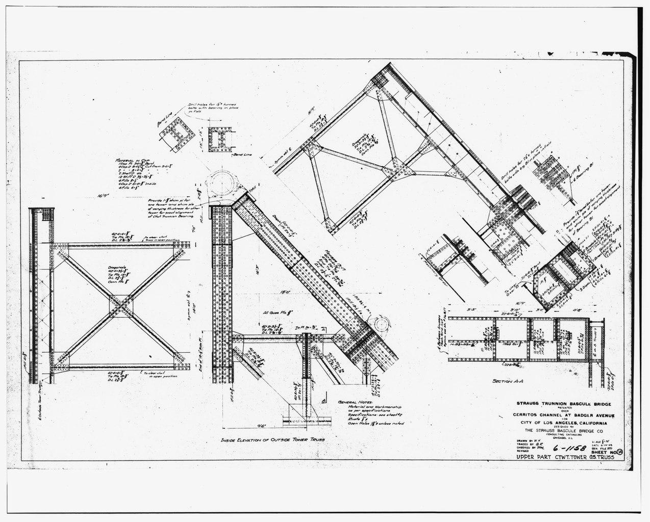 File Original Engineering Drawings Sheet 14 Upper Part
