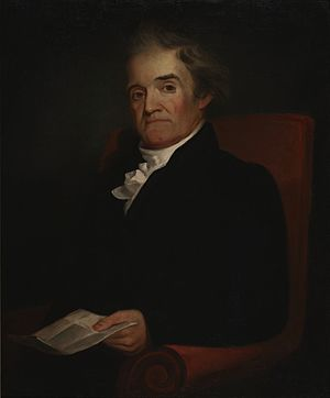"""Noah Webster,"" painted by Samuel Fi..."