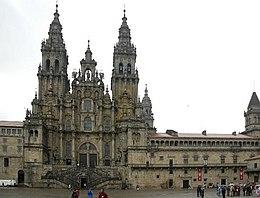 Kathedrale von Santiago de Compostela, Ziel des Jakobsweges