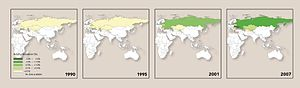 Spread of Aids in Eastern Europe and Central Asia