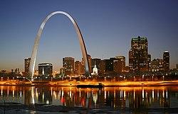 St. Louis at Night - Wikipedia
