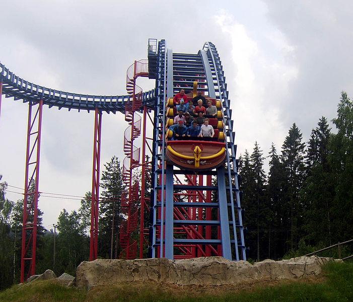 An example of the Mack SuperSplash - Tusenfryd