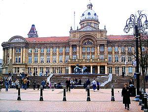 Victoria Square, in central Birmingham