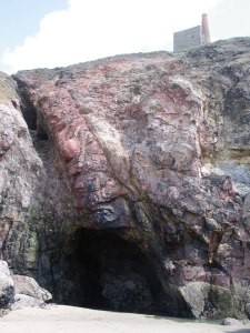 Wheal Coates Cave, Chapel Porth