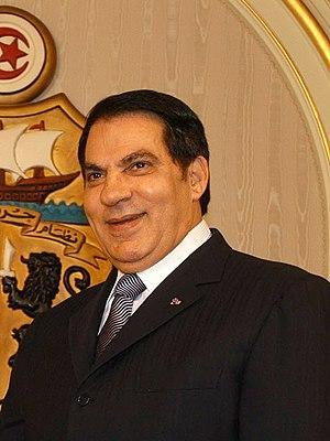 Zine El Abidine Ben Ali, President of Tunisia ...